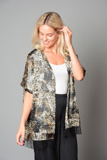 Ladies One Size Print Kimono (Pack of 16) £3.00 Per Garment