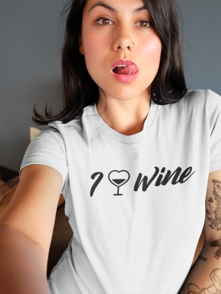 I LOVE WINE - (3 colors)