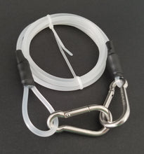 Load image into Gallery viewer, Flat Coil Reel Safety Leash - 6ft