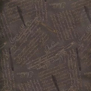 Quilters Basic - Calligraphy - Charcoal