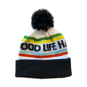 GOOD LIFE HALFSY POM HAT
