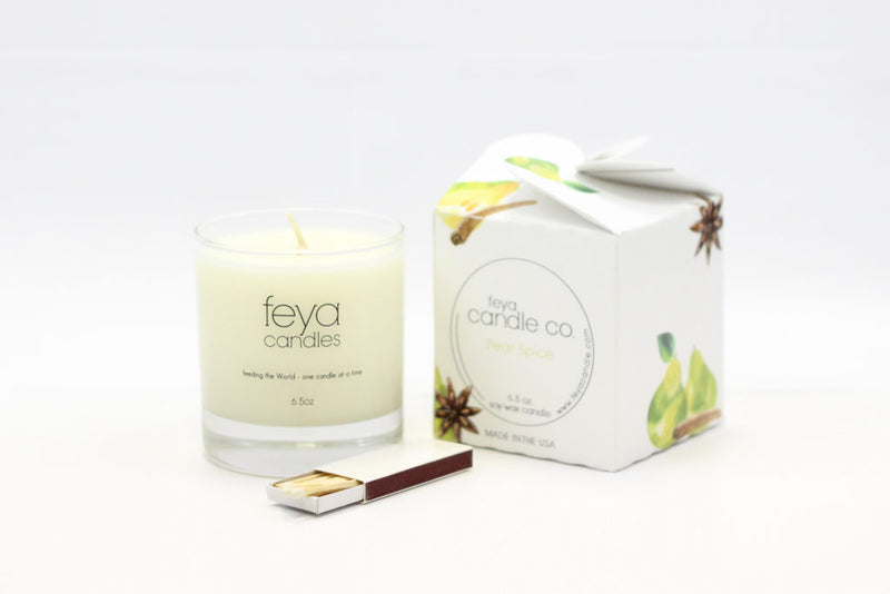 pear spice candle