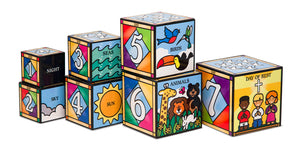 Bloques Dias De La Creacion - Days Of Creation Nesting Blocks 2777