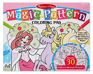 Magic-Patterns Bloc Para Colorear - Rosa 9432