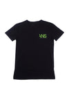 ans black t-shirt