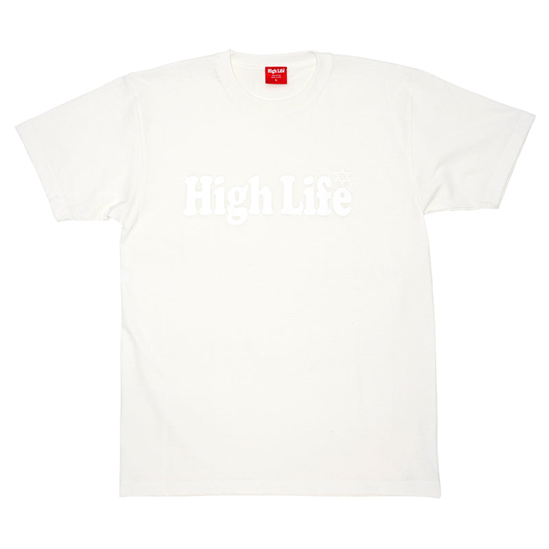 HighLife / Main Logo Tee - Natural -