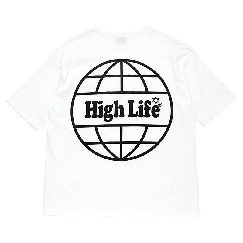 HighLife / International Pocket Tee - White -