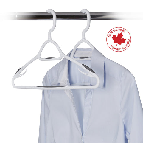 5 Pack Deluxe Swivel, Non-Slip Clothes Hanger - Cool Grey - Style 6000