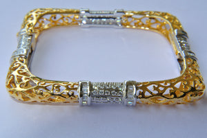 Square Jaalwork Bangle