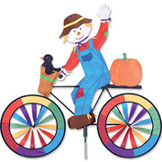 "30"" Scarecrow Bicycle Spinner"