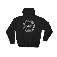 Load image into Gallery viewer, Lead Never Follow Rebels Hoodie