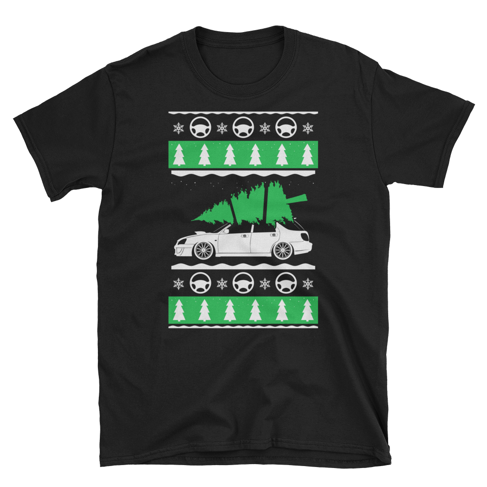 Christmas Wagon Subaru T-Shirt