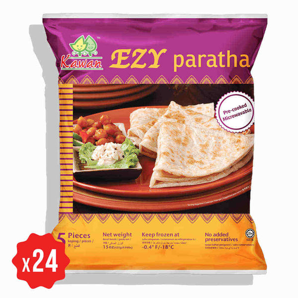 [Carton] Ezy Paratha (5 pcs x 24 packets)