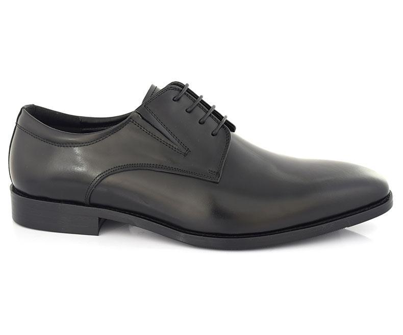 FLOGOS-Men's Formal Shoes-Black