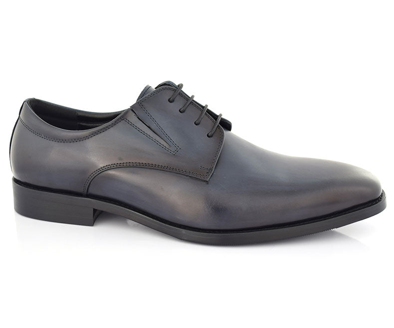 FLOGOS-Men's Formal Shoes-Blue