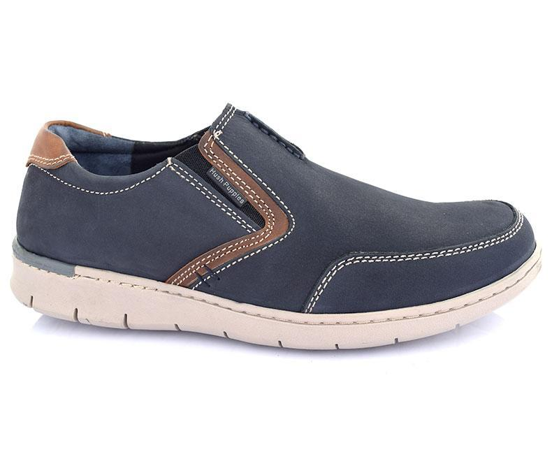 SIGMUND SNEAKER-Men's Shoes Casual\Loafers-Marine
