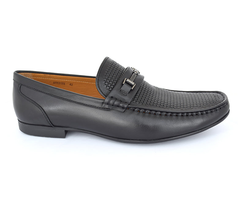 steiger-Moccasins For Men, black data-zoom=