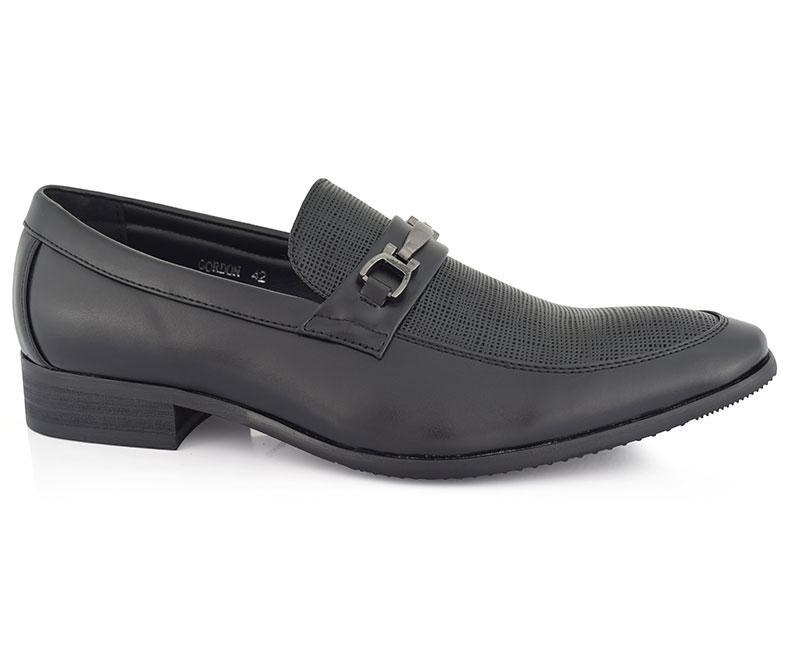 Gordon-Formal Footwear for Men-Black