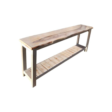 Henly Style Hall Table with One Drawer and One Shelf