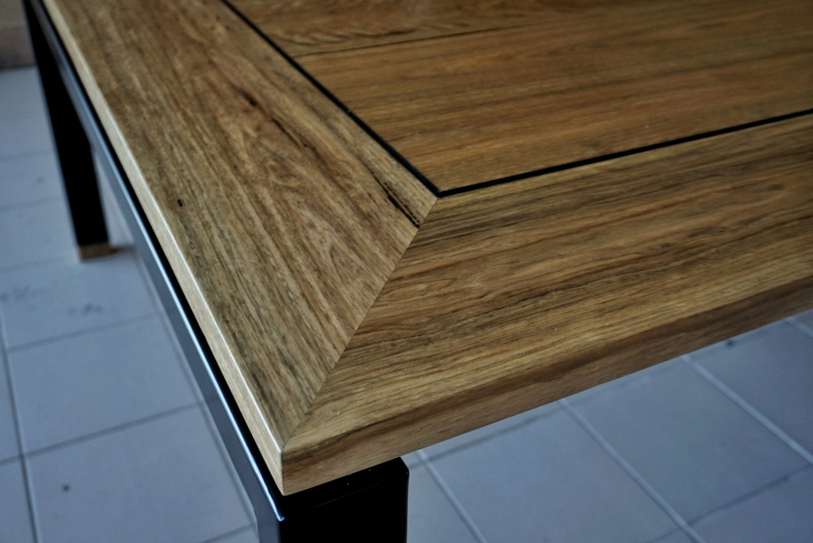 Floating Spotted Gum Square Table