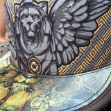 Winged Warrior Lion Hologram Hat
