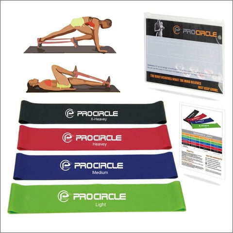 Image of Procircle Resistance Loop Bands - Resistance Bands