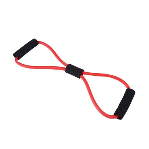 Stretch Yoga Training Crossfit Elastic Band - Red - Resistance Bands