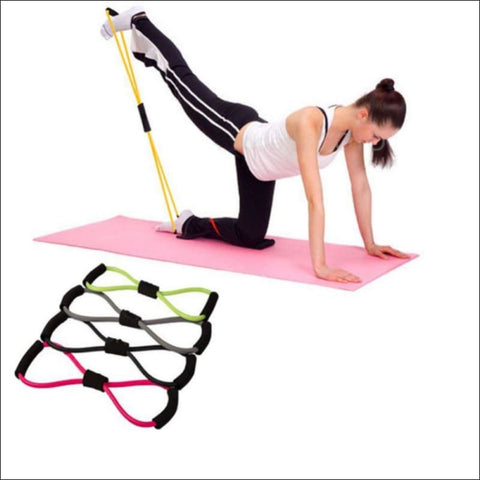Stretch Yoga Training Crossfit Elastic Band - Resistance Bands