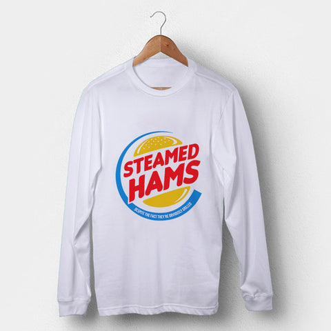Steamed Ham Man's Long Sleeve | Leaftunes