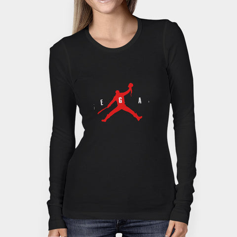 Air Negan Woman's Long Sleeve | Leaftunes