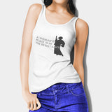 A Womans Place Is In The Resistance Princess Leia2 Woman's Tank Top I | Leaftunes