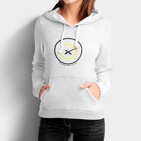 Space X Droneship Woman's Hoodies | Leaftunes