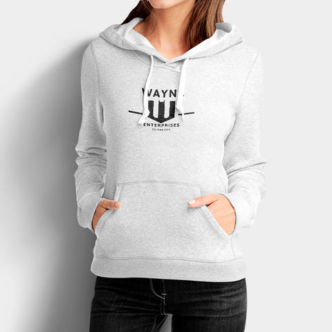 Wayne Enterprises Woman's Hoodies | Leaftunes