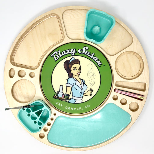 Original Blazy Susan Table Top Package