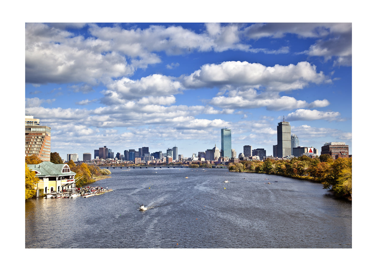 BOSTON:  A View from Above the Public Gardens