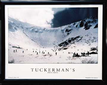 Tuckerman Ravine 8 x 10 color print FRAMED