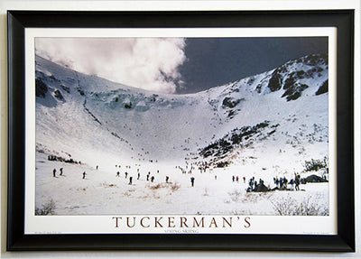 Tuckerman Ravine Spring Skiing  20 x 30 color print  FRAMED