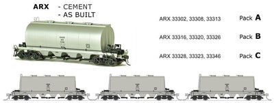 ARX SDS Models: ARX: Cement Wagon: AS BUILT PACK C..