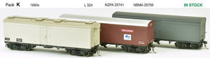 SDS Models: NSWGR: MRC Ice Chilled Wagon: Pack K