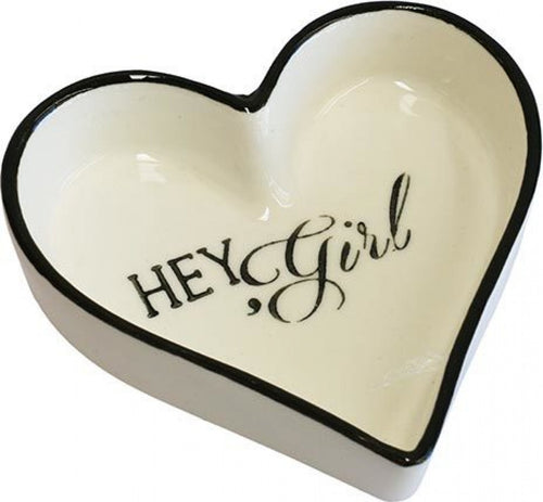 Hey Girl Trinket Tray
