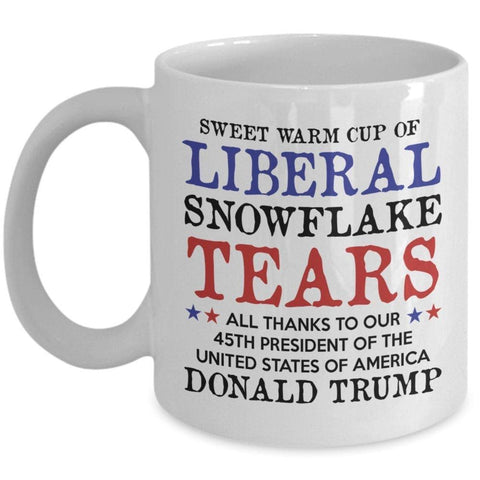 American Greatness Liberal Tears Mug (Double Sided)