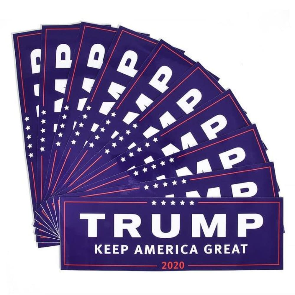 American Greatness TRUMP KEEP AMERICA GREAT 2020 Stickers - 10pcs