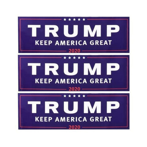 Image of American Greatness TRUMP KEEP AMERICA GREAT 2020 Stickers - 3pcs