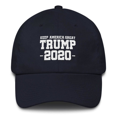 Image of Keep America Great Trump 2020 *MADE IN THE USA* Hat - Navy