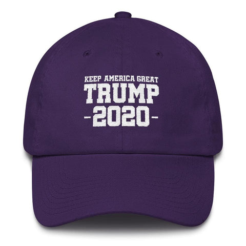 Image of Keep America Great Trump 2020 *MADE IN THE USA* Hat - Purple