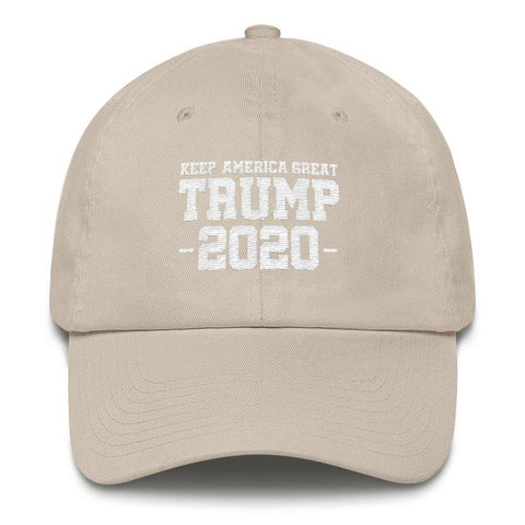 Keep America Great Trump 2020 *MADE IN THE USA* Hat - Stone