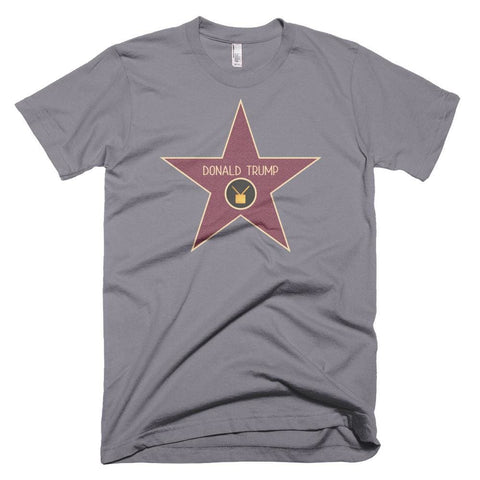 Image of Trump Star *MADE IN THE USA* Unisex T-shirt - Slate / XS