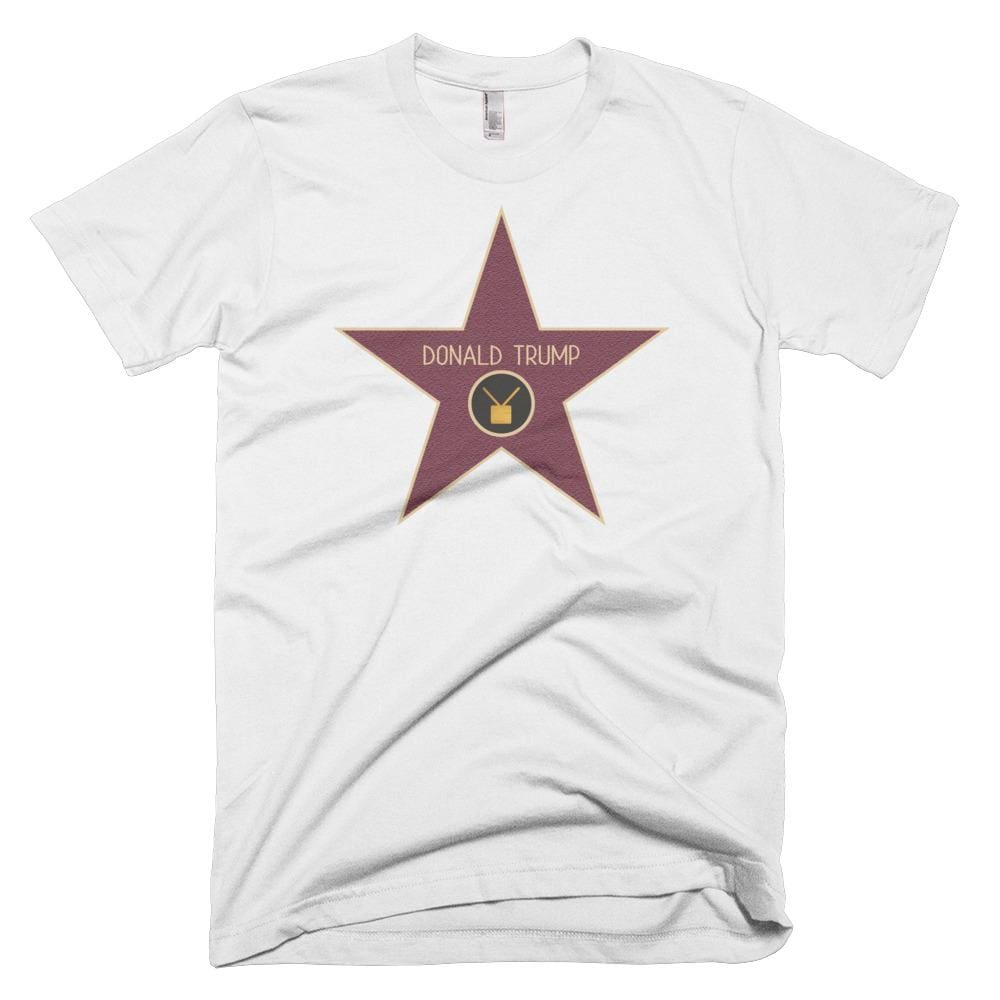 Trump Star *MADE IN THE USA* Unisex T-shirt - White / XS