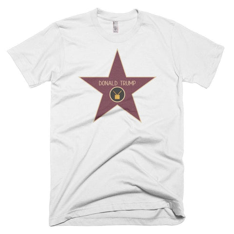 Image of Trump Star *MADE IN THE USA* Unisex T-shirt - White / XS