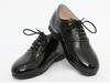 Black Patent Derby Shoes - Eat Play Love
